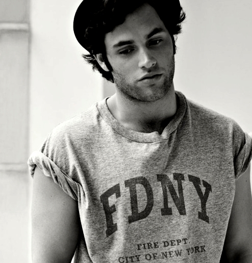 penn badgley, boy, gossip girl, sexy