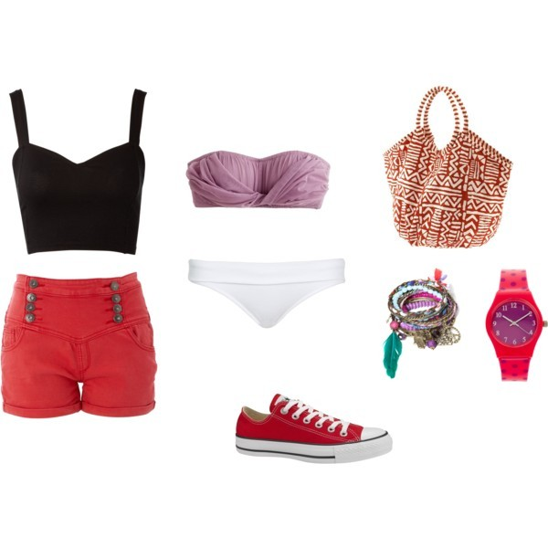 allstar, beautiful, bikinis, fashion, girl, polyvore, shorts