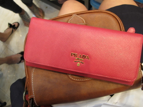 prada, bag, clutch, fashion