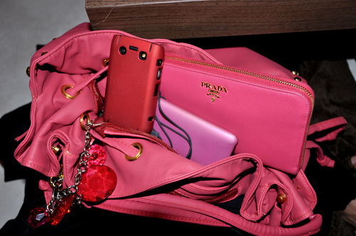prada, bag, fashion