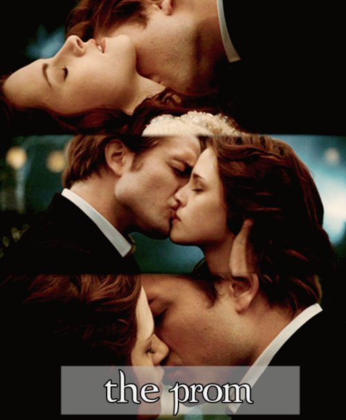 beautiful, bella and edward, bella swan, beward, couple, edward cullen, kiss, love, prom, romance, romantic, twilight, twilight prom, twilight things i like