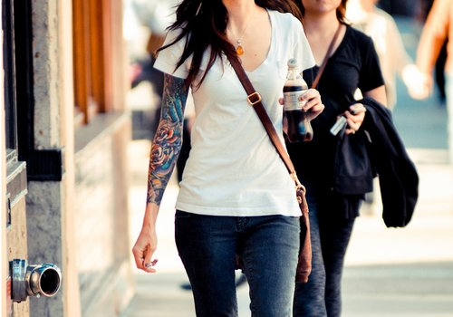 coca cola, coke, girl, ink, sleeve, tattoo, tattoos