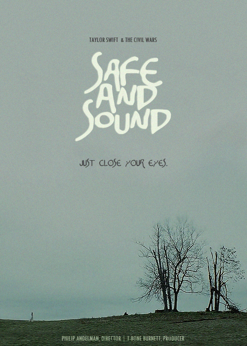 autumn, hunger games, just close your eyes, movie, poster, safe and sound, taylor swift, trees