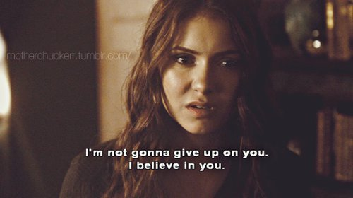 elena, give up, love, stefan, vampire diaries