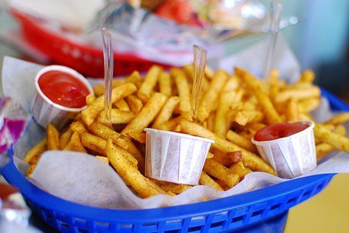 *-*, food, ketchup, love