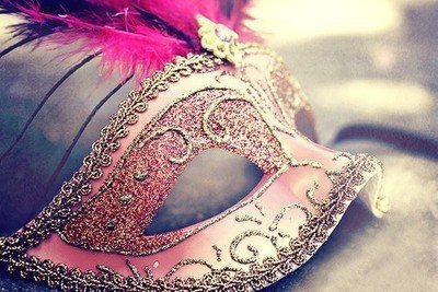accessories, awesome, feather, mask