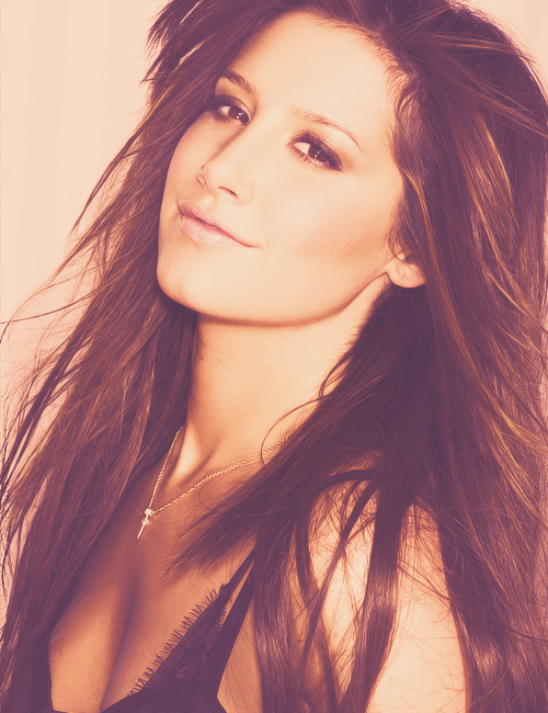 adorable, ashley tisdale, beautiful, brunette - image ...