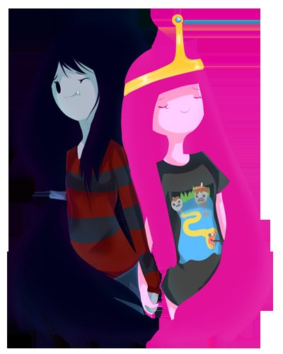 adventure time, beautiful, cute, love, marceline, princess bubblegum
