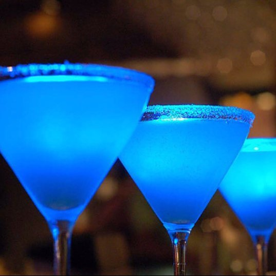 alcohol, art, blue, coctail