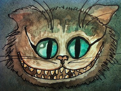 Alice in Wonderland Cat Drawings Alice Cat Draw Illustration