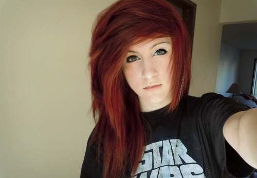 alternative, amazing, beautiful, dye hair, famous, girl, hair, hair style, model, photography, pretty, red hair, style