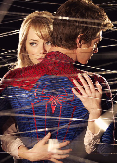 andrew garfield, couple, emma stone, love