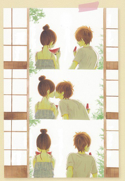 anime, bokura ga ita, couple, cute, kawaii, love