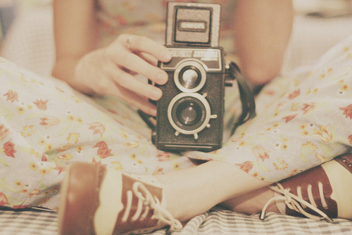 antique, beautiful, camera, cute, girl, old, photography, pretty, shoes, vintage