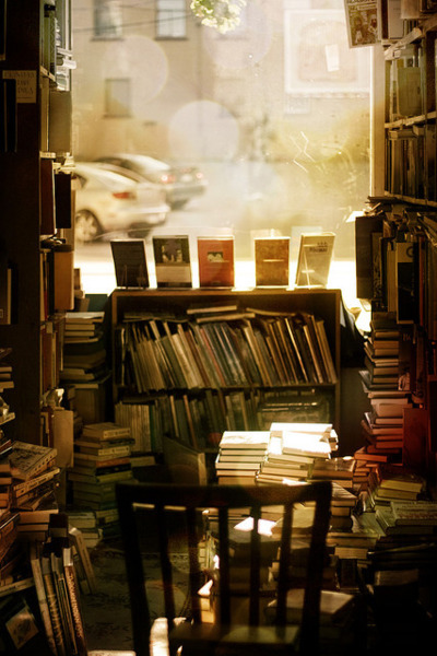 antique, books, library, retro, vintage