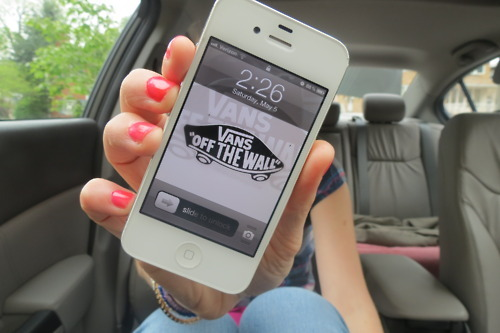 apple, girl, iphone, phone, photography, quality, vans, white