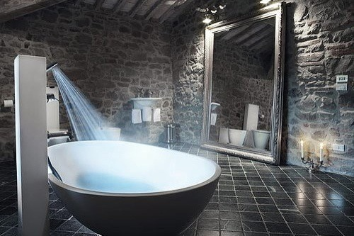 architecture, bath, bathe and bathroom