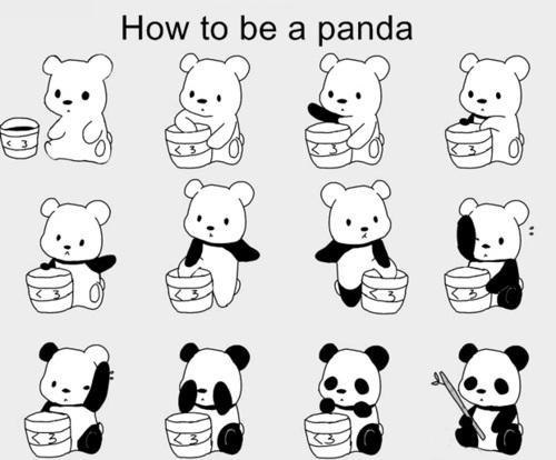 art, beautiful, black, black and white, cute, cute panda, exo, fashion, how to be a panda, love, nature, panda, pandas, photography, quote, seungri, tao, text, vintage, white