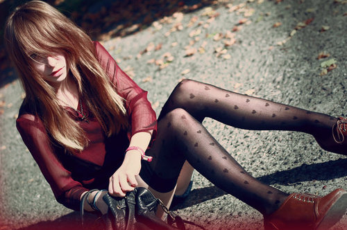 art, beautiful, couple, cute, fashion, girl, hair, heart, leggings, long hair, model, photography, pretty, skinny, thin