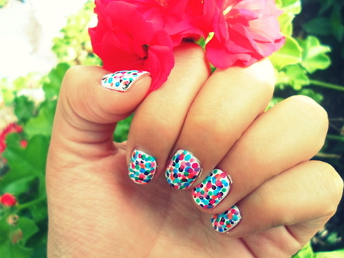 art nail, beautiful, colorful, design