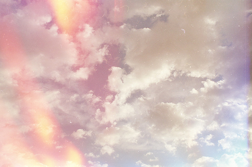 azul, blue, cielo, clouds, light, old, sky, sun, vintage