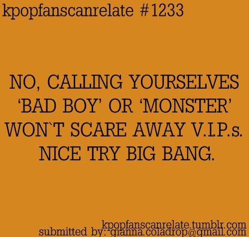 bad boy, big bang, kpop, kpop quotes