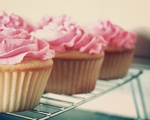 bakery, beautiful, candy, cream, cupcake, delicious, fluffy, food, frosting, girl, love, muffin, photography, pink, pink cupcakes, sugar, yummy