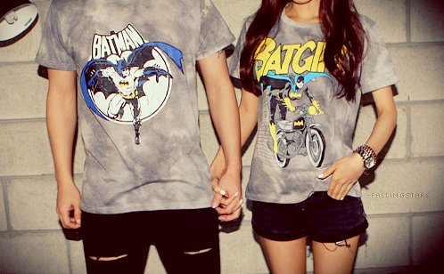 Batman couple t shirt couples cute matching