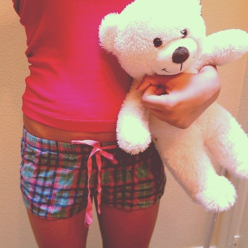 bear, cute, outfit, pajamas