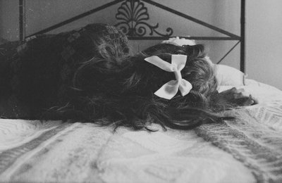 beautiful, bed, black and white, cute