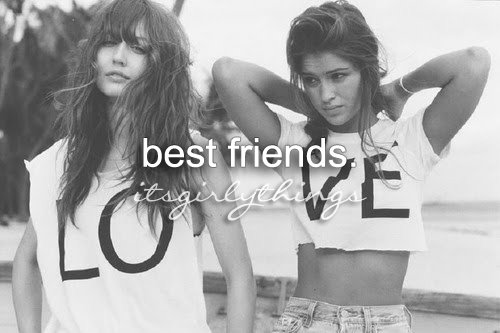 beautiful, best friend, best friends, cute, friend, friends, friendship, girl, girls, love, text, typography