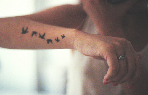 beautiful, birds, cool, funny, girl, love, perfect, photo, pretty, sexy, tattoo, vintage
