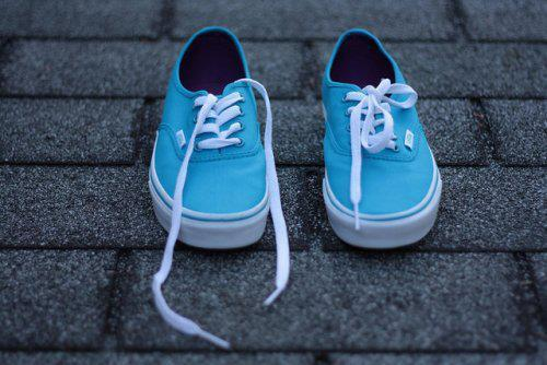 beautiful, blue, bright, clothes, colorful, cute, fashion, girls, hair, lovely, model, nice, photography, shoes, sneakers, style, summer, vans