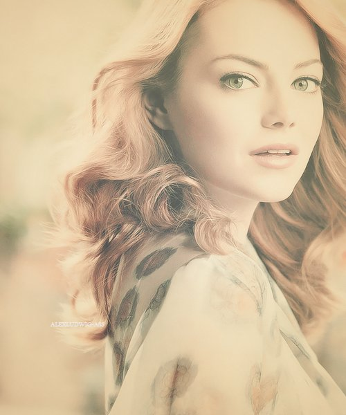 beautiful, celebrity, emma stone, fashion, fucking awesome, girl, hair