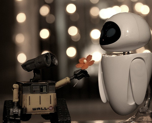 beautiful, cute, disney, love, pixa, wall-e, walle