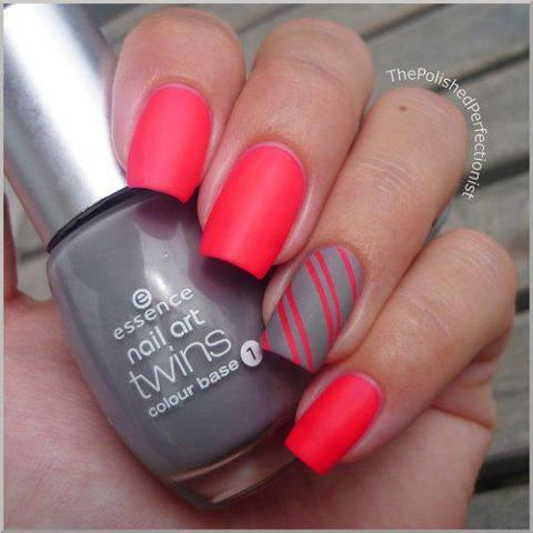 beautiful, cute, manicure, nails, pink