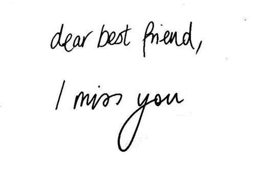 best friend, black and white, i miyy you, miss you, text