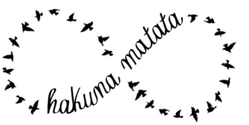 birds, cute, forever, hakuna matata, infinity, lion king, love, pretty