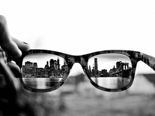 Eyeglass Frames New York City : black and white, city, gorgeous, sunglasses - image ...