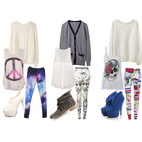 pics for gt cute outfits with leggings polyvore