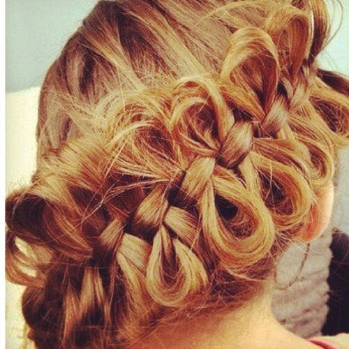 Stupendous Bows Braid Hair Hairstyle Image 526095 On Favim Com Hairstyle Inspiration Daily Dogsangcom