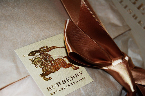 box, burberry, classy, fashion, gift, gift box, luxury, photo, ribbon, tumblr
