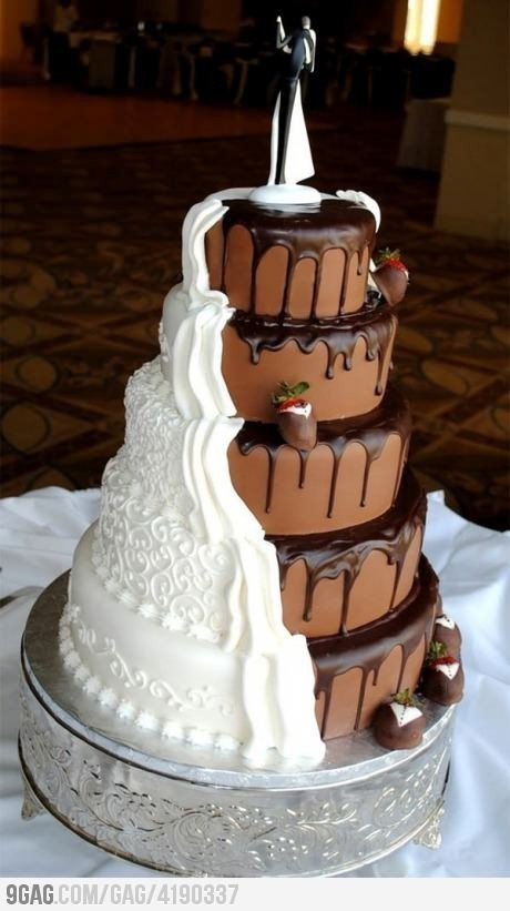 cake, chocolate, dessert, food, groom and bride, strawberries, wedding, wedding cake, white