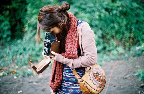 camera, cute, fashion, girl