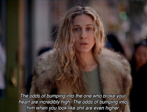 ... bradshaw, quote, sarah jessica parker, sex and the city, subtitle: http://favim.com/image/529744/