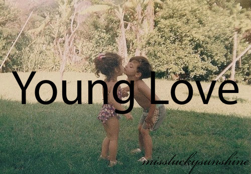 children, cute, first kiss, grass, kids, kiss, love, missluckysunshine, quote, summer, sweet, text, tumblr, young