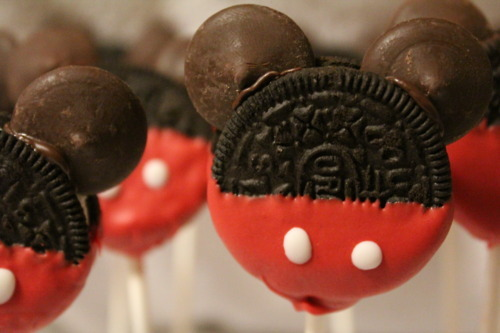 chocolate, cookie, cute, disney, food, girl, mickey, red