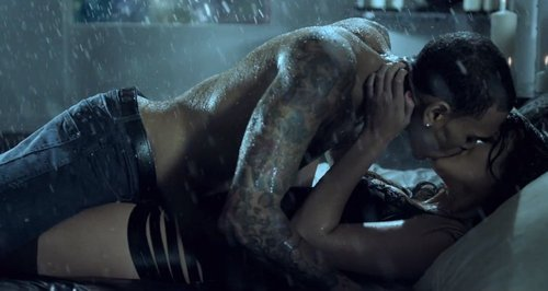chris brown, kiss, music, photo