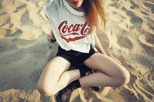 Sweet Girl Tumblr Cocacola Cute Girls Sweet