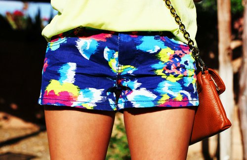 colors, fashion, floral, girl